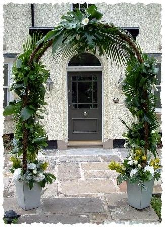 Wedding floral Arch - Wedding Flowers by Beechside Group